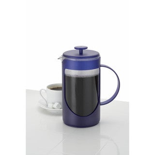 BonJour Coffee Ami-Matin 8-Cup French Press, Blue