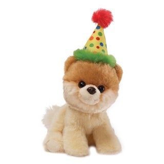 Gund Itty Bitty Boo Happy Birthday Plush Puppy
