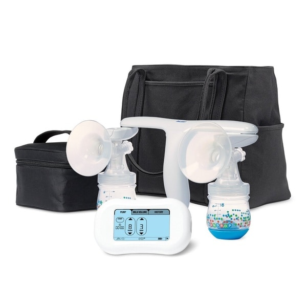 The First Years Double Breastflow Memory Pump