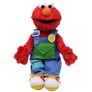 Gund Sesame Street Teach Me Elmo Stuffed Animal