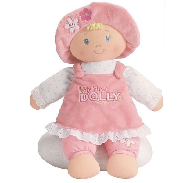 Gund Blonde My First Dolly Stuffed Doll