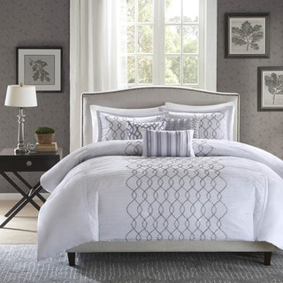 Madison Park Lillian 6-Piece Duvet Cover Set