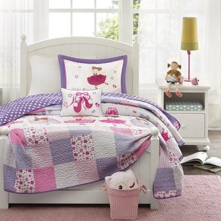 Mi Zone Kids Dancing Duchess 4-piece Coverlet Set