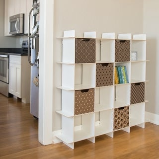 Sprout 16-Cubby Recycled Materials Organizer