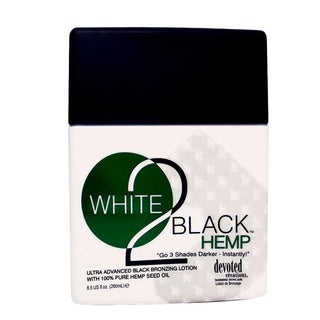 Devoted Creations White 2 Black 8.5-ounce Hemp Tanning Lotion