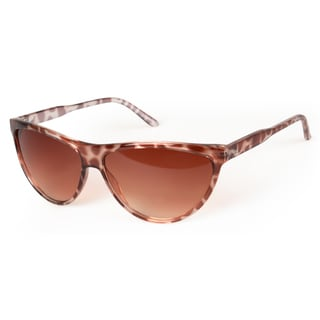 Journee Collection Women's Plastic Cat Eye Fashion Sunglasses