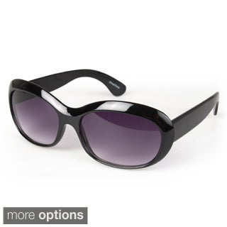 Journee Collection Women's Plastic Fashion Sunglasses
