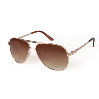 Journee Collection Women's Metal Aviator Fashion Sunglasses
