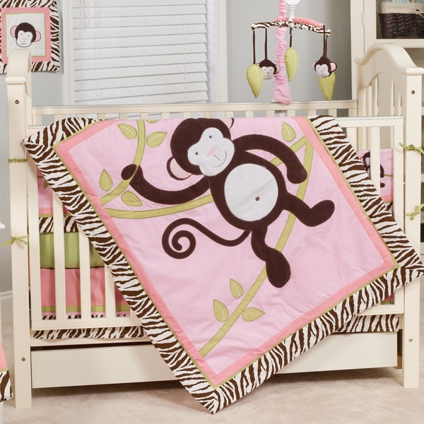 Pam Grace Creations Jolly Molly 10-piece Crib Bedding Set