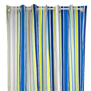 Pam Grace Creations Rockstar Stripe Shower Curtain