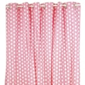 Pam Grace Creations Pink Dot Shower Curtain