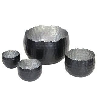 Essential Two-handle Metal Vase
