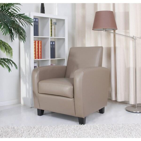 Gold Sparrow Stockton Stone Finish Arm Chair
