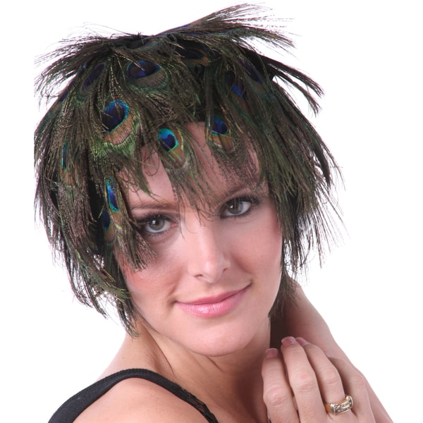 Natural Iridescent Peacock Eye Wig