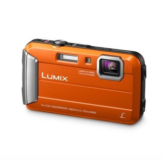 Panasonic TS25 Waterproof 16.1MP Orange Digital Camera