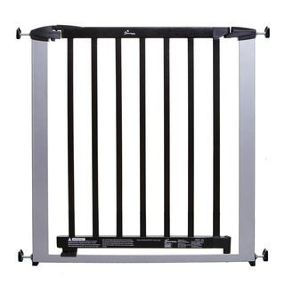 Dreambaby Windsor Auto Close Steel Black/Silvertone Gate