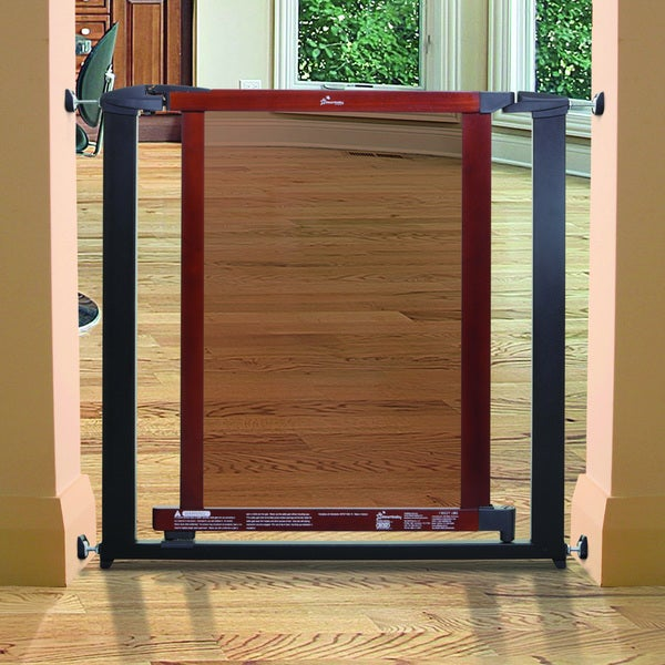 Dreambaby Metropolitan Auto Close Charcoal Gate