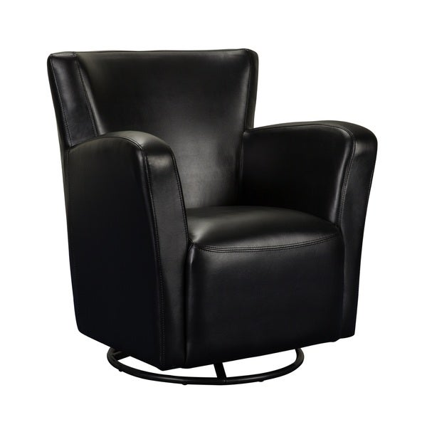 Medeley Faux Leather Swivel Chair