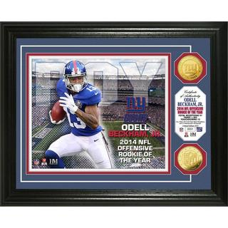 Odell Beckham Jr. Rookie of the Year Gold Coin Photo Mint