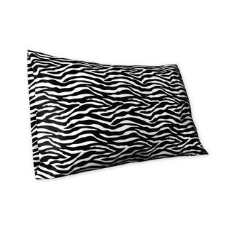 Satin Zebra Printed Pillowcases
