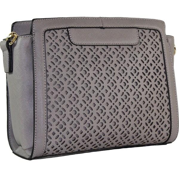 Lithyc 'Mally' Laser Cut Cross-body Handbag