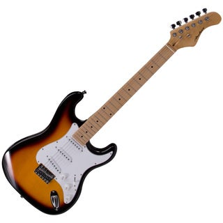 Archer SS10 Maple Neck Sunburst Electric Guitar