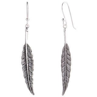 Handcrafted Sterling Silver Flight Foxtail Danling Style Earrings (Thailand)