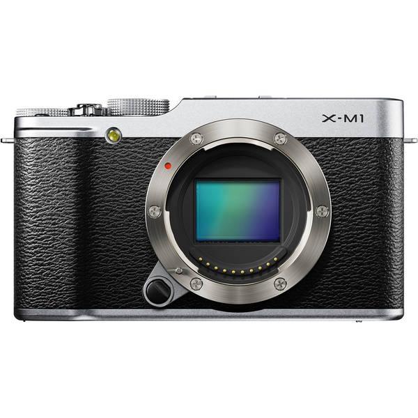 Fujifilm X M1 Silver Digital Camera Body Only 14944636