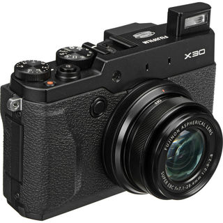 Fujifilm X30 12MP Black Digital Camera