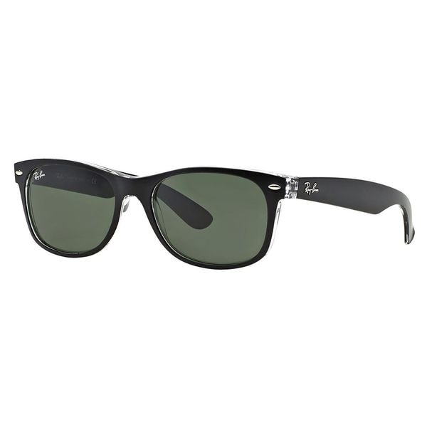 Ray Ban RB2132 Wayfarer Sunglasses-605371 Blue/Transparent (Gray Grad Lens)-52mm 272692783