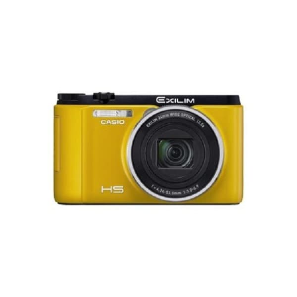 Casio Exilim EX-ZR1500 Yellow Digital Camera