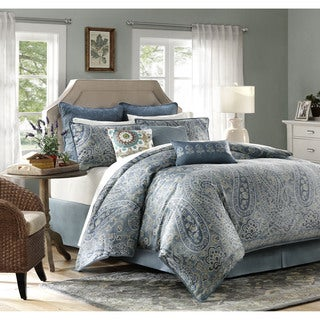 Harbor House Belcourt 4-Piece Cotton Comforter Set