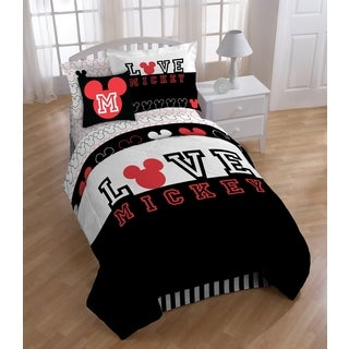 Mickey Classic Love 7-piece Bed In A Bag Set