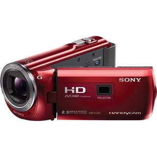 Sony 16GB PJ380 Black Camcorder with Projector Camcorder