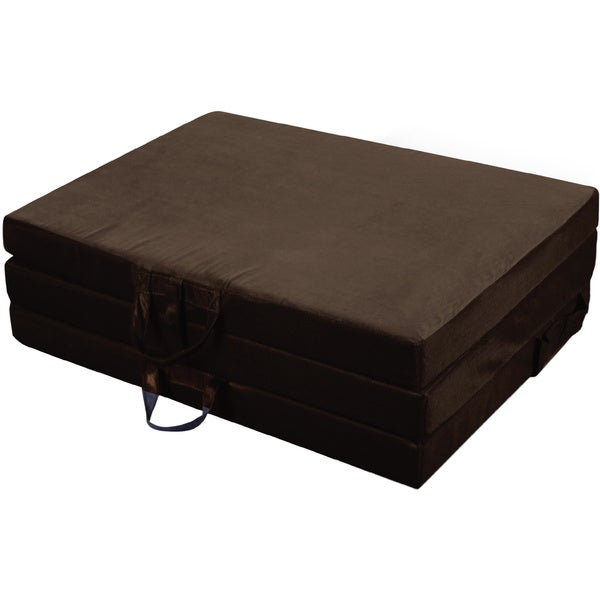 Folding Foam Mattress Costco Jordan Manufacturing Twin Tri-fold Mat - 17079765 - Overstock.com ...