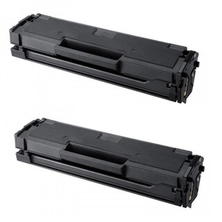 Samsung Compatible MLT-D111S MLT 111 Toner Cartridge for SL-M2020W M2070W Printer (2-pack)
