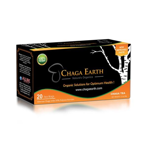 Chaga Earth Siberian Chaga Tea Bags (20 Bags)