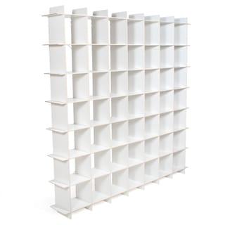 Modern 49 Cube Storage Bookcase