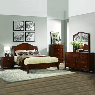 Wynter Classic Mahogany Oak 5-piece Bedrrom Set