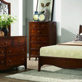 Wynter Classic Mahogany Oak 6- drawer Chest