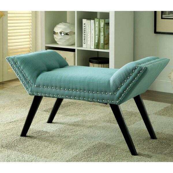 Furniture of America Dawne Modern Angled Bench 14945724