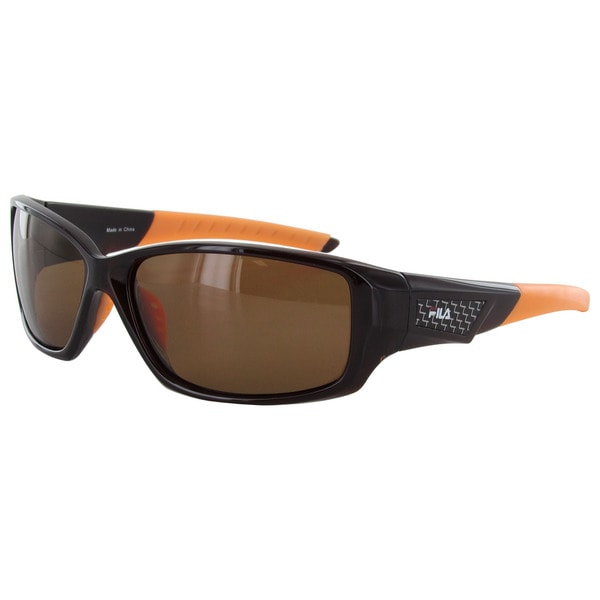 Fila Men's SF003P Polarized Sunglasses