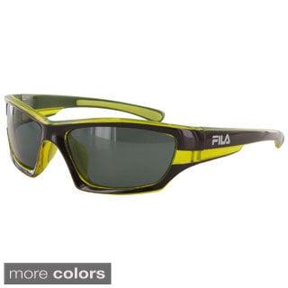 Fila Men's SF007P Polarized Sunglasses