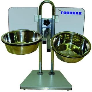 Foodbar Adjustable Pet Feeder with Bowls