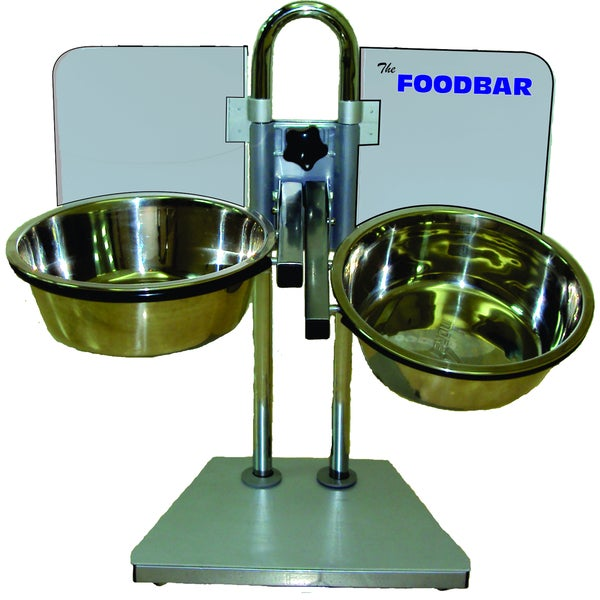 Foodbar Adjustable Pet Feeder with Bowls 14945766
