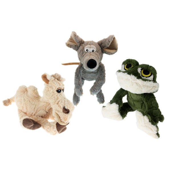 Multipet Etch-A-Pet 9-inch Plush Dog Toy 14945777