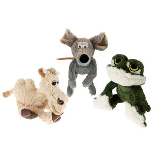 Multipet Etch-A-Pet 9-inch Plush Dog Toy