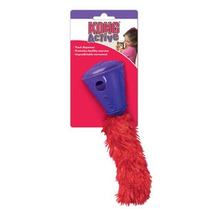 KONG 8-inch Active Cat Treat Cone Toy