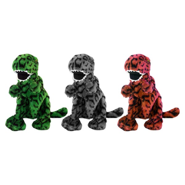 Multipet 18-inch Tyrannosaurus Rex Plush Dog Toy