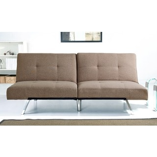 abbyson living newport futon sleeper sofa 12434243